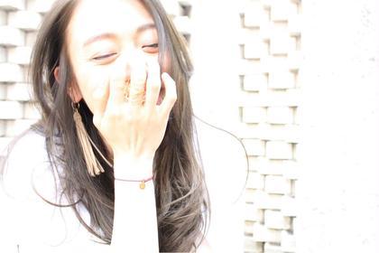 光に透けるマットのカラーリング☆ これからの季節にオススメです!! ストリーターズ所属・榎並誠一郎のスタイル