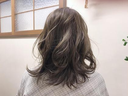 アッシュグレージュ☆ reche所属・黒岩由梨のスタイル