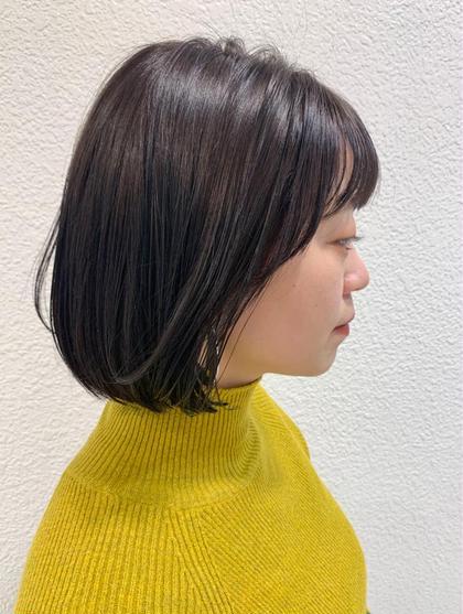 【人気no.1メニュー!】カット+透明感カラー+oggi ottoトリートメント🧴🍃(ブリーチ無し)