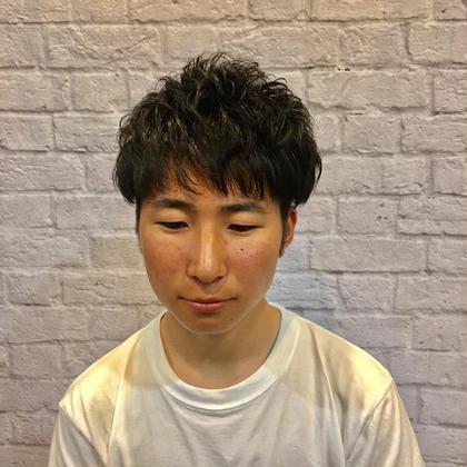 銀座マツナガ新宿野村ビル店所属の松浦一聖のヘアカタログ
