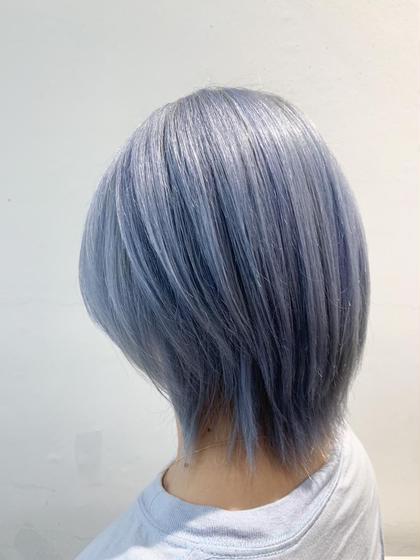 リタッチブリーチ👑2回目の方限定‼️リタッチブリーチのみ+カラー+選べる3stpトリートメント+前髪カット代なし