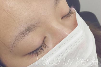 ブラウンミックス100本 目尻にはピンクをいれてます◎ LuLu by kenje所属・ヤマダチカコのスタイル
