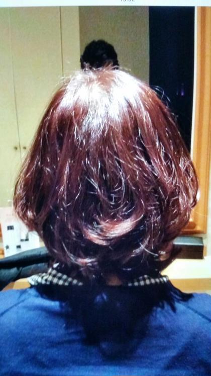 ピンクにバイオレットをいれた艶カラー! バイオレットを入れることで色落ちしにくく黄色くなるのを防ぎます! 大人可愛いを目指して見ませんか? LINKLINK所属・LINKLINKのスタイル