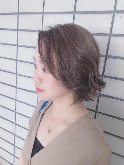 🦋<平日限定❤︎>カット&ブリーチ&カラー🦋
