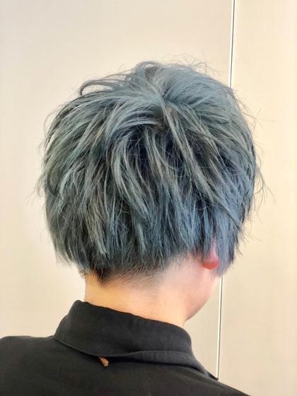 ダメージレス美髪トリプルカラー(ブリーチ2回+カラー)SB込み