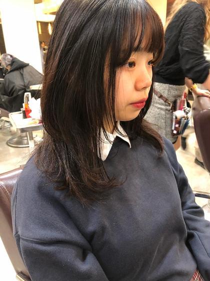 ZEST八王子店所属の寒河江友花のヘアカタログ