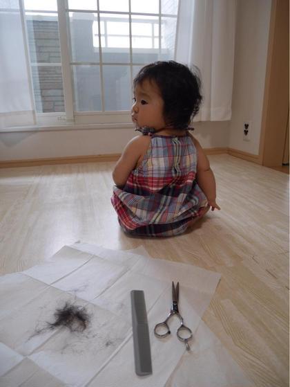 とびきりキッズ 最年少カット 可愛い 田澤唯那のキッズヘアスタイル・髪型