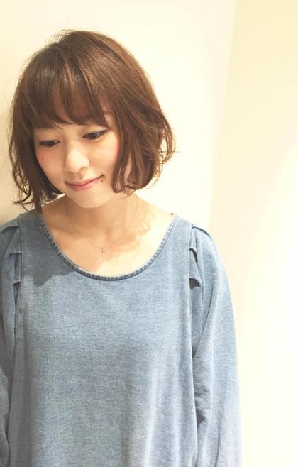ゆるふわボブ♡ #まきまきmackey curl Y.所属・山﨑マキコのスタイル