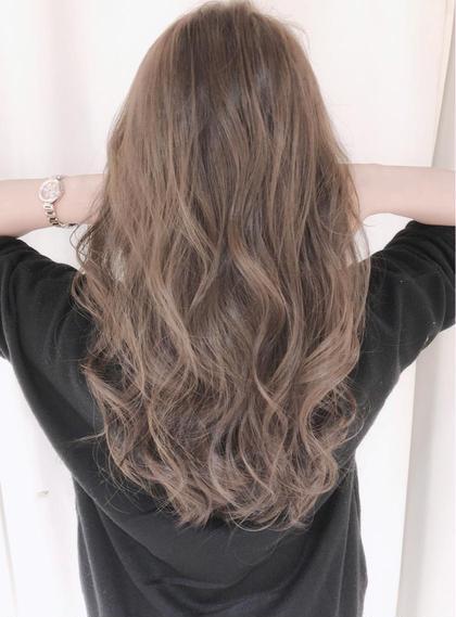 【💛ブリーチ無し透明感カラー🧡】ダブルカラーイルミナカラー➕髪質改善TOKIOトリートメント💕