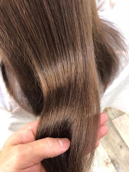 🍀ケアブリーチ+コラーゲンカラー+髪質改善トリートメント(ホームケア付き)🍀