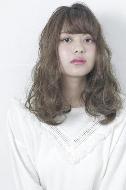 アッシュ系ゆるふわスタイル☆ Ash十日市場店所属・引地達也のスタイル