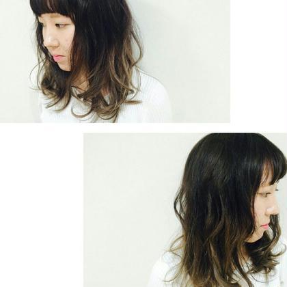 アッシュのグラデーション! LiNA  ~Beauty Garden~所属・村上夏美のスタイル