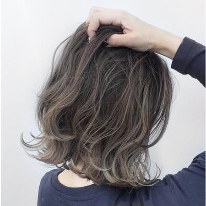 藤村りさこのミディアムのヘアスタイル