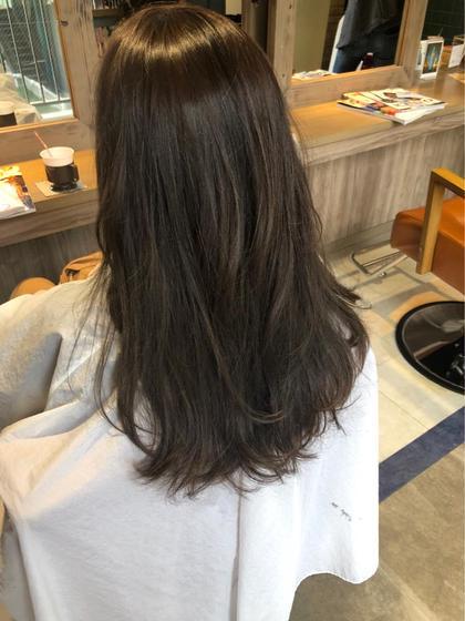 今月限定!前髪カット&全体カラー &トリートメント