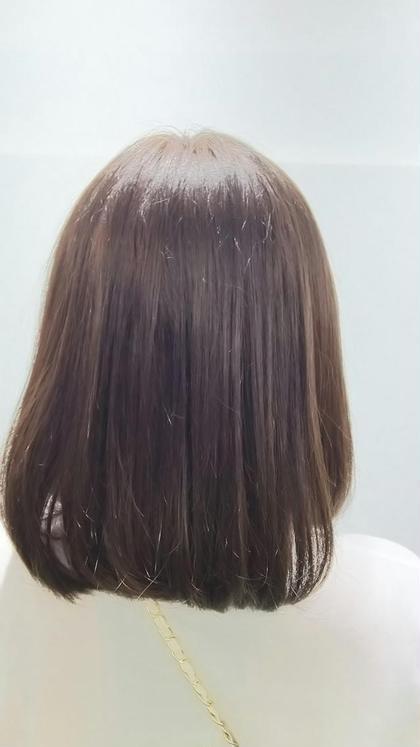 黒から7トーンのマットブラウンに! lond所属・東山菜美絵のスタイル