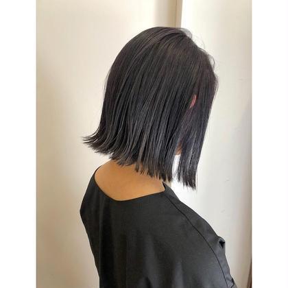 cut + 潤艶 treatment
