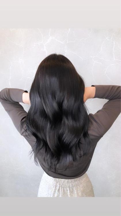 大人気🌈4月限定🌈カット➕髪質改善サイエンスアクアinイルミナカラー+TOKIOトリートメント超音波アイロン使用