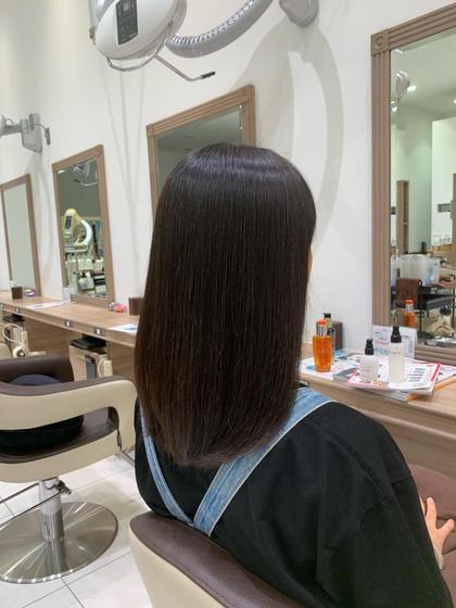 秋も縮毛矯正でサラツヤな髪へ💇♀️✨