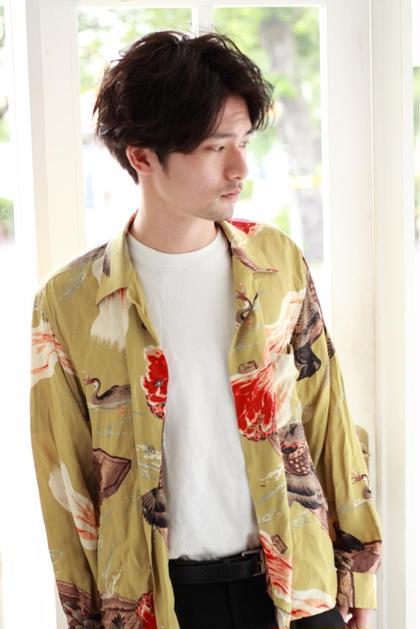 Red neo恵比寿店所属の渡邊智也のヘアカタログ