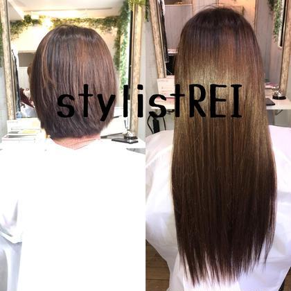 REI/れいサロンマネージャーのロングのヘアスタイル