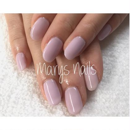 ワンカラー  2300円 Marys Nails...*所属・MarysNails...*のフォト