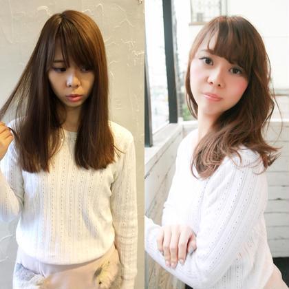 インスタグラムにたくさん情報のせています! iwaikatsuのセミロングのヘアスタイル