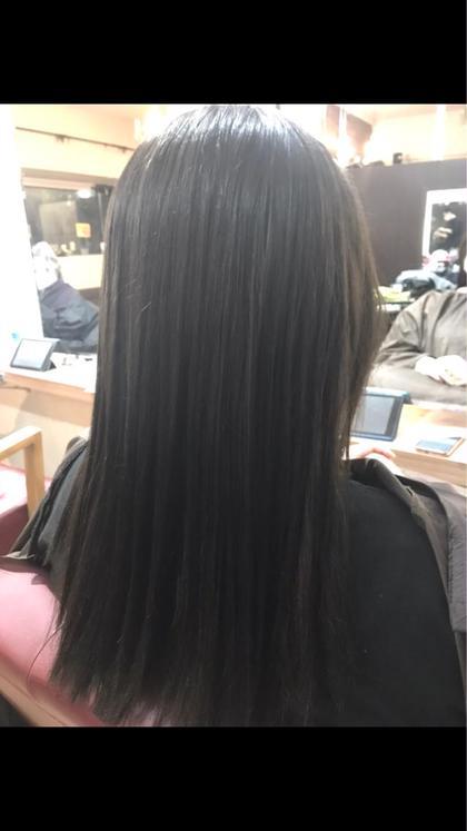 【😍キラ髪フルコース😍】メンテナンスカット✂️トレンド艶カラー🦄キラ髪ストレート🌈2stepトリートメント
