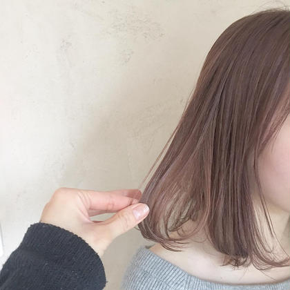 カラー ミディアム さくらcolor♡pinkは春にピッタリ!!