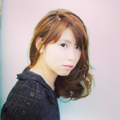 カットパーマカラーで、柔らかくイメチェンしてみました!! OnGG所属・TOSHIOICHIMURAのスタイル
