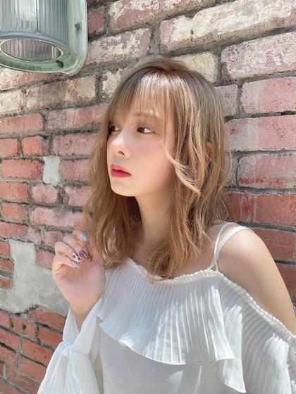 💖2回目以降クーポン💖ダメージ軽減💖似合わせカット+艶髪イルミナカラー+TOKIOクイックトリートメント🥰✨