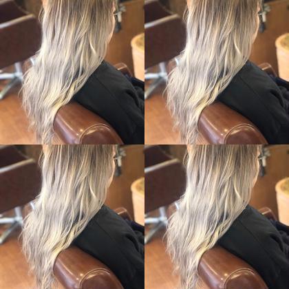 2月限定透明感抜群髪質改善艶カラー