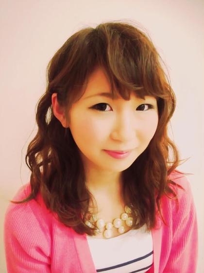 フェミニンパーマ hair relaxation rire所属・出石咲子のスタイル