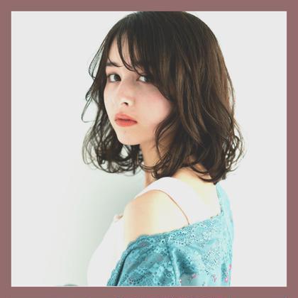 【変身コース🌺】カット + (リタッチ)カラー   + パーマ + アミノ酸Tr