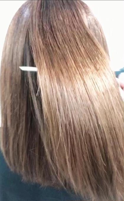 6月限定先着10人✨髪が艶が蘇る✨カット+縮毛矯正+酸熱トリートメント