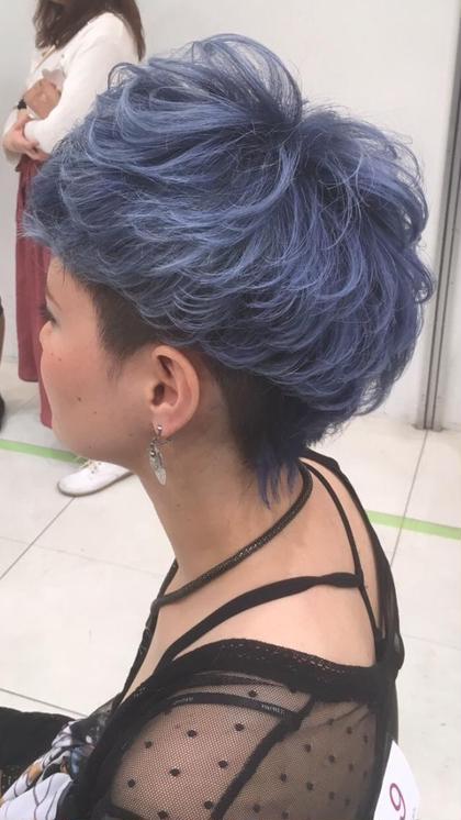 コンテストでの刈り上げスタイルです!! M.TANIGUCHI  branche'所属・柴田桂輔のスタイル