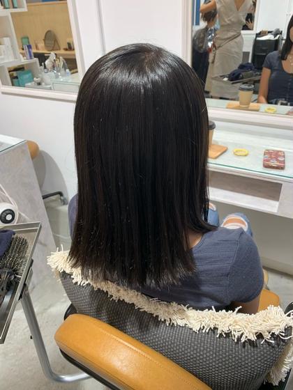 👑 黒染め or 白髪染め カラー