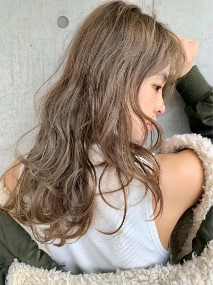🧸柔らかい髪に見せたい方🧸💗透明感抜群モテベージュカラー💗➕🎀炭酸スパ🎀➕オリジナルトリートメント🎀
