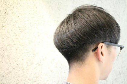 ぼっちゃん刈り。 ちょっとモードな雰囲気に。 creep hair所属・川嶋恭平のスタイル