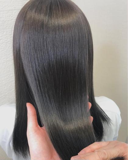 【5月限定】🍀広がりを抑えたい方はこちら🙆ナチュラル縮毛矯正+保湿トリートメント🍀¥14000→¥5500