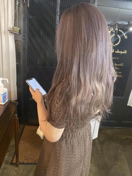 【✨個性派✨】                     カット+カラー+フルブリーチ