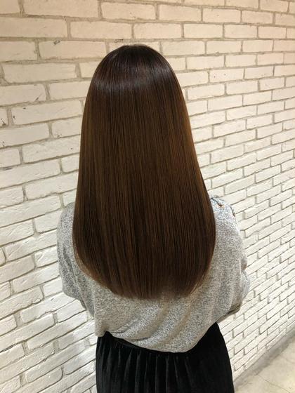 ✨格別の艶と手触り✨ノンダメージ縮毛矯正