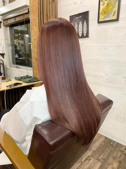 ✨【髪質改善】ULTOWA(ウルトワ)高濃度水素TR+カット+フルカラー✨