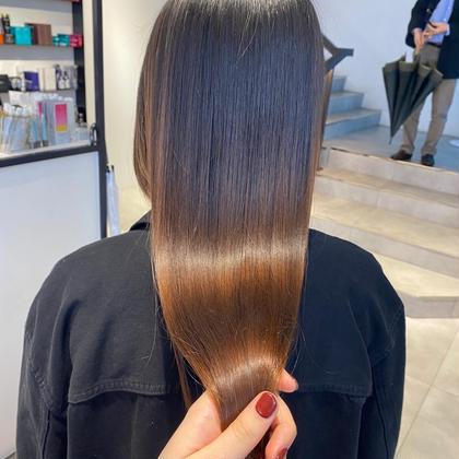🥀glass hair treatment(髪質改善)