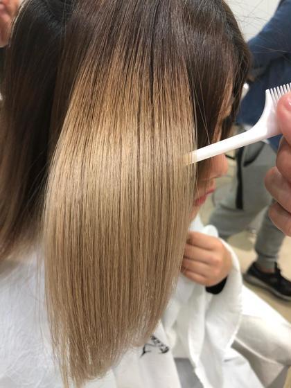 ✔️【ハイダメージの方必見❣️】髪質改善トリートメントストレート✨ ブリーチ毛、ダメージ毛でもかかります💖