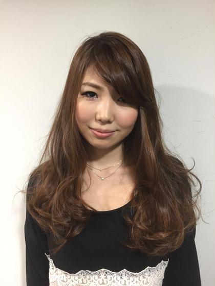 ハイライトモデルさんです。 シーボンヘアサロンneaf所属・太田実樹のスタイル