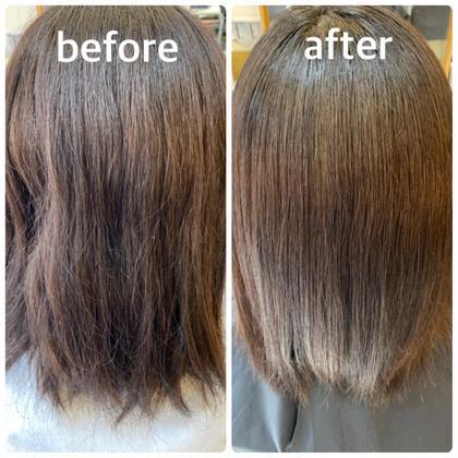 【美髪チャージ】TV 、SNSで話題の最新髪質改善水素トリートメント+似合わせカット✨