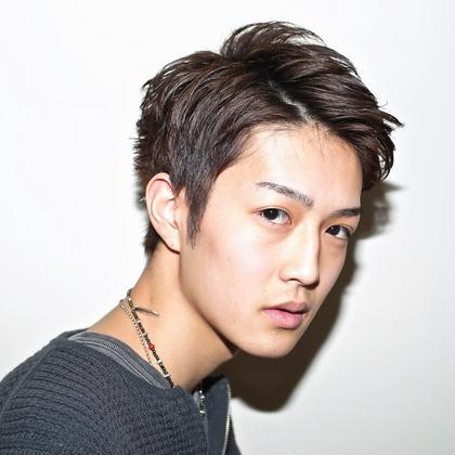 アップバングショート ⭐️必ず素敵に⭐️近藤雄太のメンズヘアスタイル・髪型