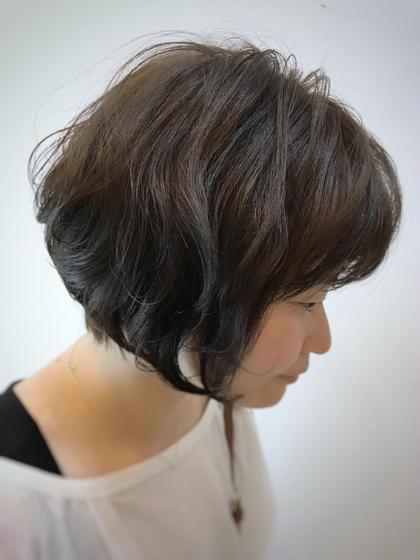 ふんわりボブ⭐  肩まであった髪をバッサリと✂︎ 気分転換に短くするのもアリですね✨ FACE。磯子所属・平瀬颯太郎のスタイル