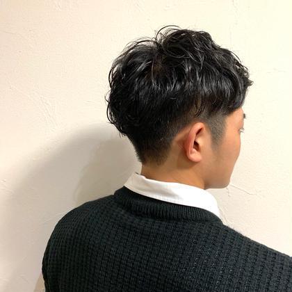 💜【人気No. 1 メンズ限定】似合わせカット+パーマ