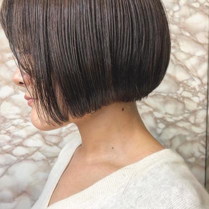 【まとまる髪へ❣️】うるつやハニーストレートパーマ& 似合わせカット&最新3stepトリートメント